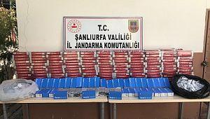 Şanlıurfa'da kaçak sigara ve cep telefonu ele geçirildi (Videolu Haber)
