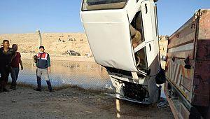 Şanlıurfa'da Otomobil sulama kanalına devrildi :2 ölü