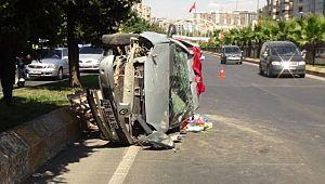 Şanlıurfa'da trafik kazası : 1 yaralı (video)