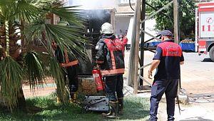 Şanlıurfa'da trafo yangını korkuttu
