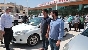 Şanlıurfa'nın en büyük açık oto pazarı açıldı (Videolu Haber)