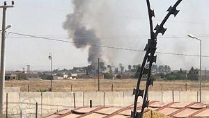 Sınırın öbür tarafında son bir haftada ikinci yangın (Video)