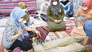 Siverek'te kaybolan meslekler için kurs açıldı (Video)
