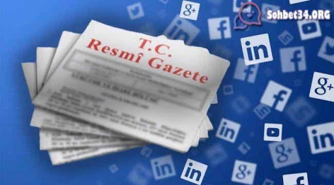 Sosyal Medya kanunu yürürlüğe girdi