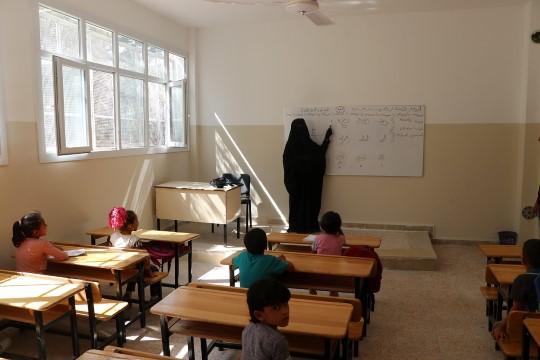 Barış pınarında eğitim öğretim başladı (Video)