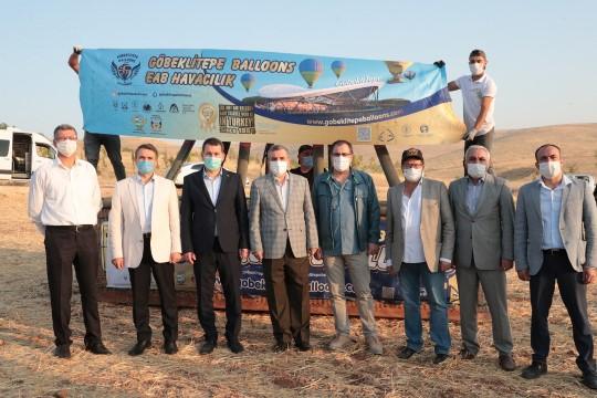 """Beyazgül Göbeklitepe'de """"Sıcak Hava Balon"""" tanıtım uçuşuna katıldı (Video)"""