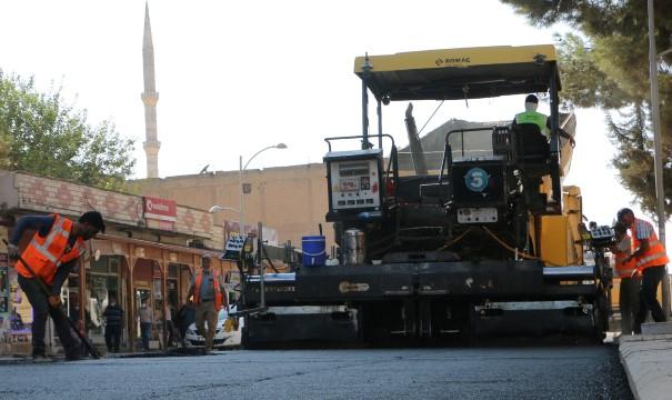 Büyükşehir'den Suruç'ta sıcak asfalt atağı (Videolu Haber)