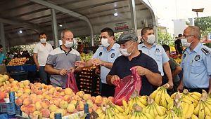 Büyükşehir semt pazarlarında denetimlerini sürdürüyor (Videolu Haber)