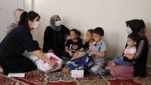 Eşinden şiddet gören aileye Büyükşehir belediyesi sahip çıktı (Videolu Haber)