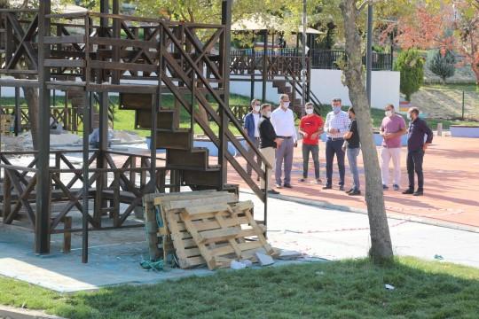 Eyyübiye belediyesi bir projenin daha açılışına hazırlanıyor (Video)