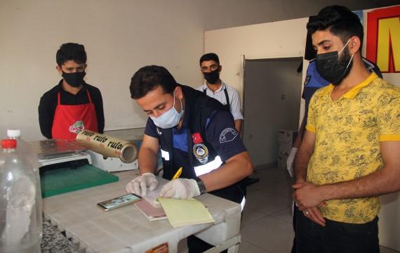 Eyyübiye belediyesi zabıta ekipleri denetimlerine devam ediyor (Videolu Haber)