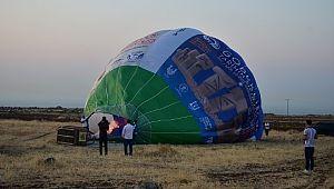 Göbeklitepe'de balon turizmi başlıyor (Video)