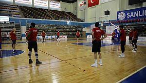 Haliliye belediyespor'da Galatasaray maçı hazırlıkları (Video)
