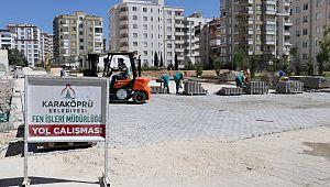 Karaköprü'de yol sorununun bitmesi için yoğun çalışma (Videolu Haber)