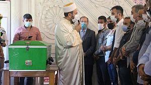 Korona virüs nedeniyle hayatını kaybeden İbrahim Toru Şanlıurfa'da defnedildi