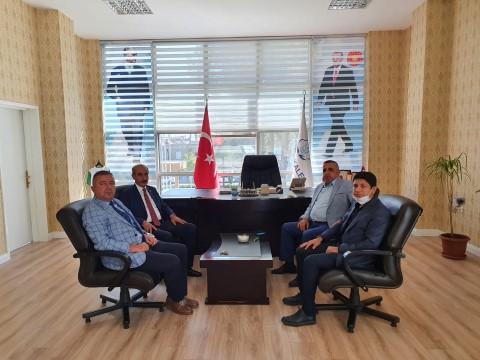 Milletvekili Akay'dan, Yalçınkaya'ya ziyaret (Video)