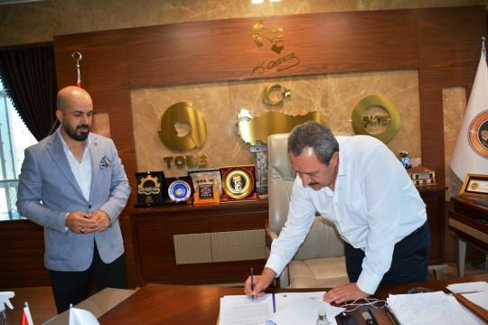 Nevali Hotel ile Şanlıurfa Ticaret borsası arasında protokol imzalandı