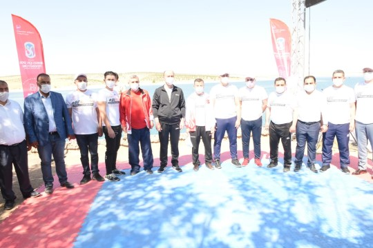 Şanlıurfa'da avrupa spor haftası etkinlikleri başladı (Video)