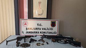 Şanlıurfa'da silah kaçakçılarına operasyon: 2 gözaltı (Videolu Haber)