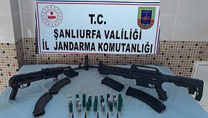 Şanlıurfa'da silah kaçakçılarına operasyon: 3 tutuklama (Video)