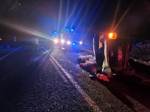 Şanlıurfa'da trafik kazası 7 yaralı (Videolu Haber)