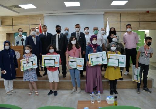 Şanlıurfa İl Milli eğitim müdürlüğü'nde heyecanlı ödül töreni