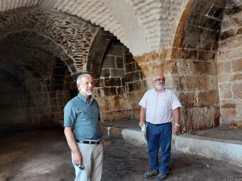 Tarihi han, HRÜ mimarlık bölüm başkanı danışmanlığında restore edildi