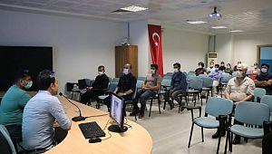Yeşilay'dan gençlik ve spor il müdürlüğü personeline eğitim