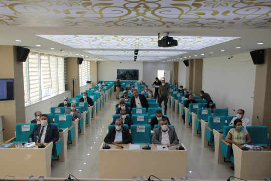 Büyükşehir belediyesi ekim ayı meclis toplantıları sona erdi