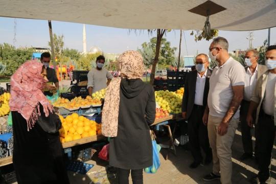 Eyyübiye Belediyesin'den Direkli'ye kapalı semt pazarı (Video)