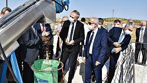 HRÜ'de Zeytin, nar ve fıstık kabuğu atıklarından hayvan yemi üretim tesisi hizmete girdi (Video)