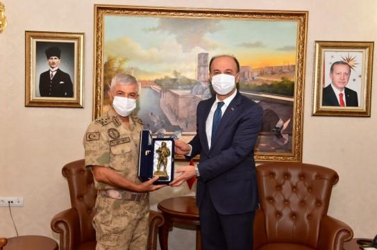 Jandarma Genel Komutanı Orgeneral Arif Çetin Şanlıurfa'da