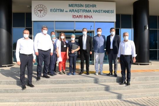 Mersin'de Covid-19 tedavisi süren Milletvekili Aydınlık'ın sağlık durumu stabil