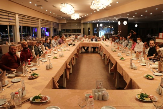 Şanlıurfa'da gazeteciler unutulmadı (Videolu Haber)