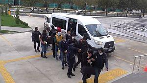 Tekirdağ merkezli Şanlırfa ve13 ilde FETÖ'den yakalanan 23 kişi adliyede (Video)