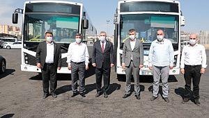Toplu taşımada, yıpranmış 55 adet otobüs revize ediliyor