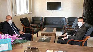 """Yalçınkaya'dan """"camiler ve din görevlileri haftası"""" ziyareti (Video)"""