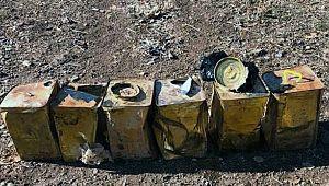 Barış Pınarı bölgesinde 15 kilogram patlayıcı ele geçirildi