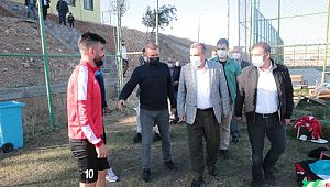 Beyazgül'den Şanlıurfaspor'a galibiyet ziyareti (Videolu Haber)