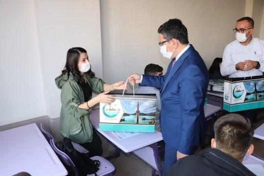 Gençler üniversiteye Halfeti Belediyesi ile hazırlanıyor