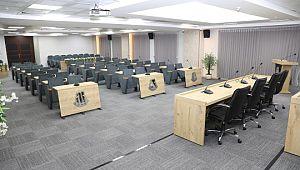 Haliliye'nin yeni meclis salonu hazır! (Videolu Haber)