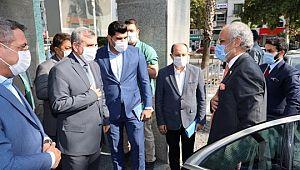 Kuveyt Büyükelçisi Al Zawawi'den Büyükşehir'e ziyaret (Videolu Haber)