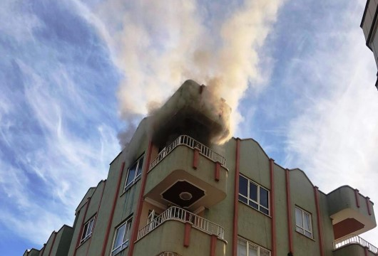 Şanlıurfa'da ev yangını korkuttu