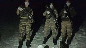 Sınırı geçmeye çalışan 4 kişi yakalandı