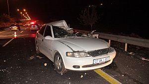 Kısıtlama öncesi feci kaza: 1 ölü, 5 yaralı