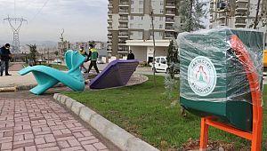 Mehmetçik'te 9 bin metrekarelik park hizmete giriyor (Videolu Haber)