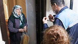 Şanlıurfa'da 65 yaş üstü vatandaşların ihtiyaçları karşılanıyor