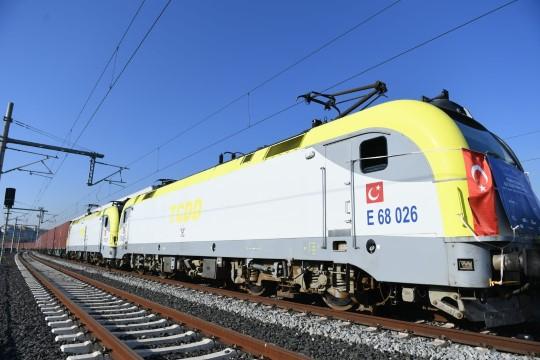 Türkiye'den Çin'e ilk ihracat treni uğurlandı