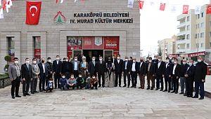 4. Murad kültür merkezi hizmete açıldı (Videolu Haber)
