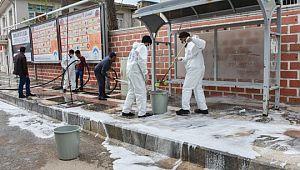 Ceylanpınar'da pandemi önleminden taviz yok